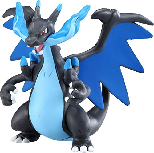 Takaratomy ESP-08 Pokemon Sun & Moon Figure - Mega Charizard X