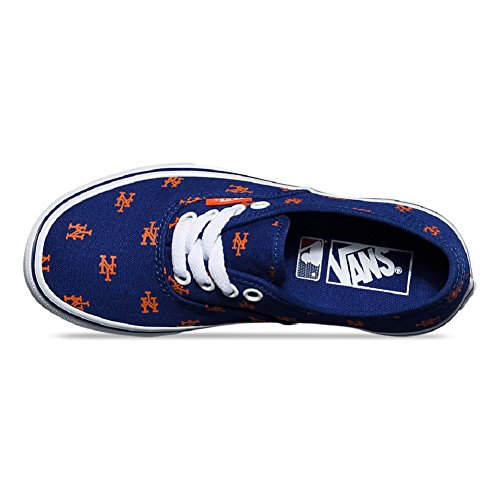 Blue Vans Royal Print Authentic Mets zwYnXq1E