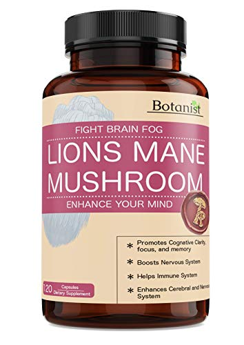 Lions Mane Mushroom Capsules – Premium Quality, Powerful Memory Support – Real Mushrooms – 120 Capsules Review