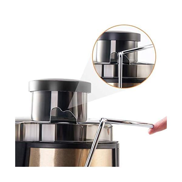 SLRMKK Macchina spremiagrumi, spremiagrumi centrifuga spremiagrumi Multifunzionale per Uso Domestico, spremiagrumi in… 6 spesavip