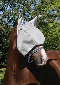 Horseware-Amigo-Chemise-Masque-anti-mouches-BronzeRouge-Poney