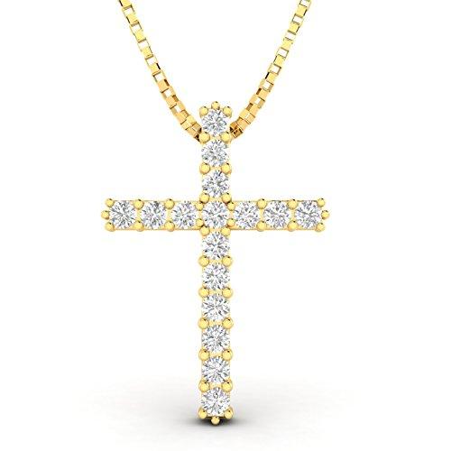 Yg Diamond Cross - 1