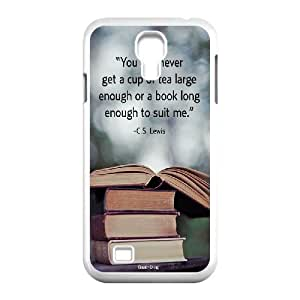 Hjqi - Customized Vintage Library Look Books Phone Case, Vintage Library Look Books DIY Case for SamSung Galaxy S4 I9500