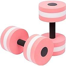 Aquatic Exercise Dumbells - Set of 2 - For Water Aerobics Pink