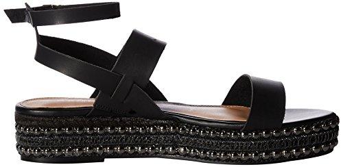 Rampage Des Femmes De Sandale De Cale-bélier Kinnect Bruni Noir