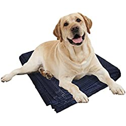 Dog Blanket Pet Throw Quilted Cover Bundle, Large For Dogs of All Sizes, Puppy, Cats Mat Pad Bed, Indoors Outdoors For Car, Lap, Sofa, Crate, Trunk, Cage, Dog House, Kennel and Carrier by Divine K9