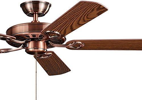 Ventilador de techo Retro Industrial, Hogar salón, restaurante, estudio, ventiladores eléctricos, ventilador de techo de estilo americano,Hoja de control de la lámpara de pared: Amazon.es: Iluminación