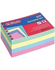 Herlitz 1150507 indexkaart A5, 100 stuks, wit
