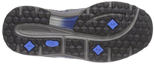 Bruetting Minnesota - zapatillas de trekking y senderismo de material sintético niños azul - Blau (royalblau/grau)