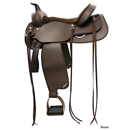 Wintec Western Trail Saddle 16In Brown