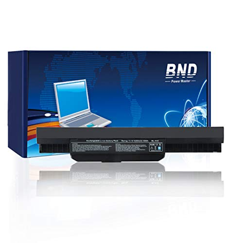 BND Laptop Battery for Asus K53E X53S X54 X54C X54H, fits P/N A32-K53 / A42-K53 / A31-K53-24 Months Warranty [6-Cell Li-ion 5200mAh/58Wh] (Asus X53s Battery)