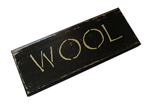 - From The Attic Crafts Wool Primitive Handmade Wood Sign