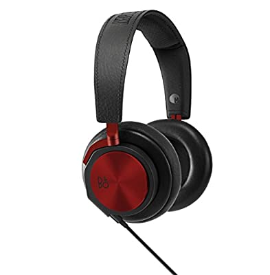 B&O PLAY by Bang & Olufsen H6 BeoPlay Headphones with DJ Khaled, Red/Golden