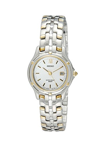 029665087911 - Seiko Women's SXE586 Le Grand Sport Two-Tone Watch carousel main 0