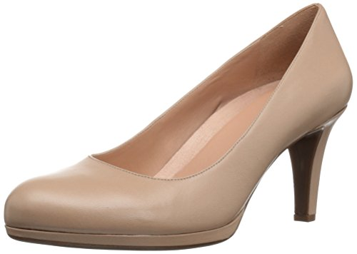 (Naturalizer Women's Michelle Dress Pump, Taupe, 10 M US)