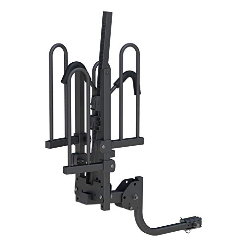 CURT Manufacturing 18085 Black Tray-Style Hitch-Mounted Bike Rack