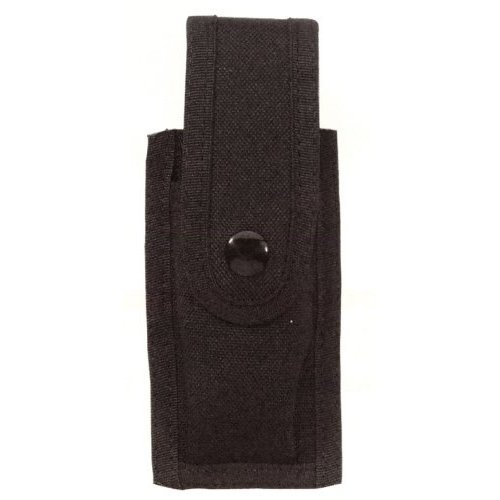 POLICE NYLON SINGLE MAG MAGAZINE CLIP DUTY BELT HOLDER CASE!! UNIVERSAL SIZE FITS MOST CLIPS SLIDE-ON STYLE