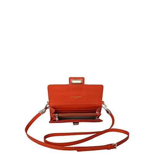 Og Sacs Mollia en amies Les Kesslord vachette Orange Cuir lisse de Pochette MV pCYxq7