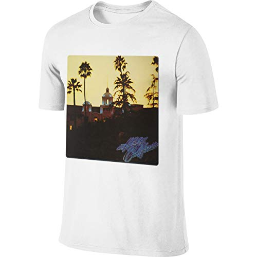 California Eagles Hotel Men's Fashion T Shirt Custom for sale  Delivered anywhere in USA