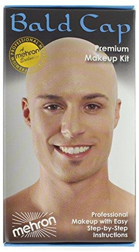 Mehron Makeup Bald Cap LATEX for Special Effects| Halloween| (Professional Makeup Kits Halloween)