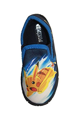 Pokemon Astley Navy Slipper UK Size 10 Infant (For Shoes Pokemon Boys)