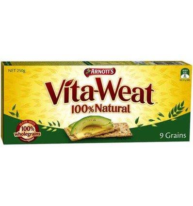 Vita-Weat 9 Grain 250g. by Arnott's by Arnott's