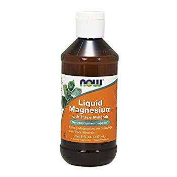 Now Foods Liquid Magnesium with Trace Mineral, 8 Ounce