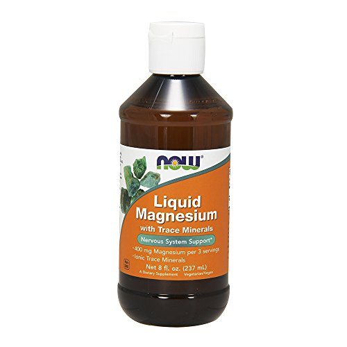 NOW Liquid Magnesium with Trace Mineral, (Trace Mineral Concentrate)