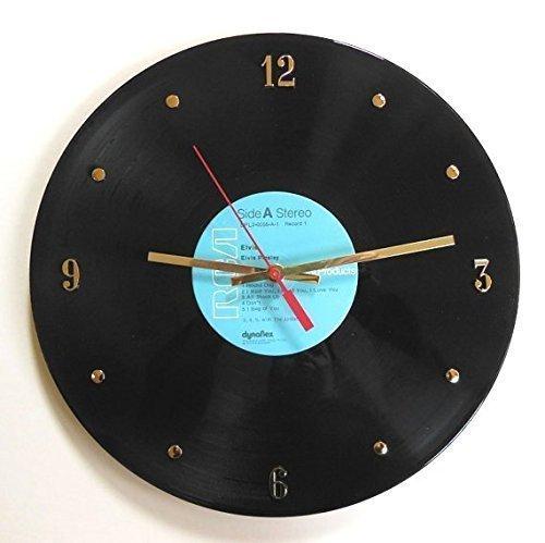 Elvis Presley Vinyl Record Clock. Handmade 12