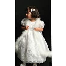 Angels Garment White Dress Size 12M Baby Girl Baptismal Occasion
