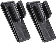 Plastic Golfing Club Bag Clip Holder Durable Black Putter Clip Golfing Accessory