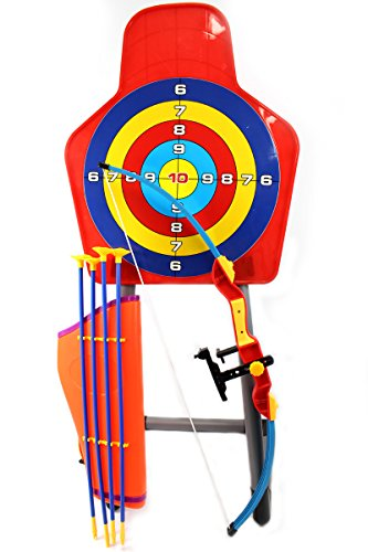 AMPERSAND SHOPS Children's King Sport Archery Toy Set With Target and Stand – DiZiSports Store