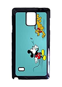 Mickey Mouse Pluto Cartoon case Durable Unique Design Hard Back Case Cover For Samsung Galaxy Note 4 New