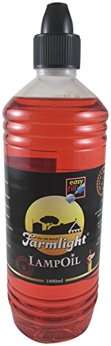 Bright Lights  Paraffin Lamp Oil, 1 L , Red