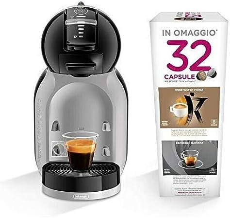 DeLonghi EDG 155.BG Mini Me Dolce Gusto Cafetera espresso + 32 cápsulas: Amazon.es: Electrónica
