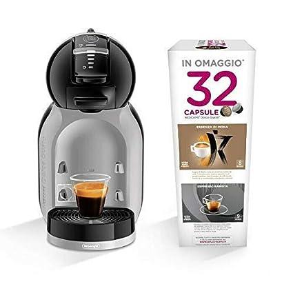 DeLonghi EDG 155.BG Mini Me Dolce Gusto Cafetera espresso + 32 ...