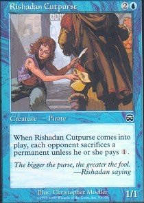 Magic: the Gathering - Rishadan Cutpurse - Mercadian Masques