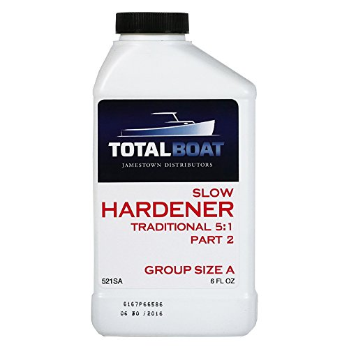 (TotalBoat 5:1 Epoxy Slow Hardener (6 Ounces (for Quart of resin)))