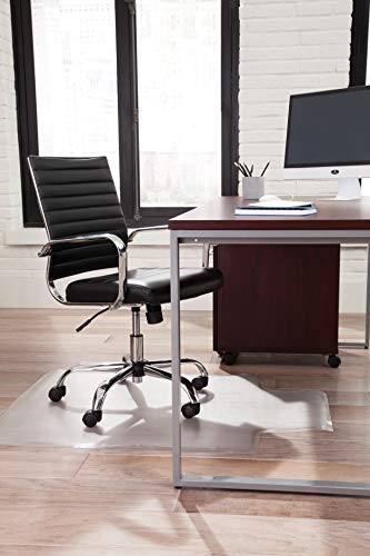 Image of OFM ESS Collection Chair Mat with Lip for Hard Surface, 36""