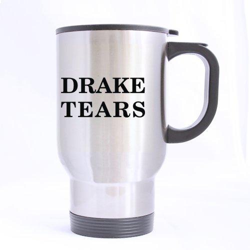 Drake Tears Discount Mug-Drake Tears Travel Mug (Silver)-14