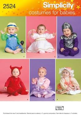 (Simplicity Pattern 2524 Baby Halloween)