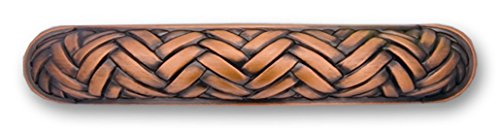 Amerelle 8340PAC Weave 3 Inch Pull, Antique ()
