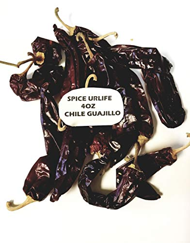 (Guajillo Dried Whole Chile Peppers-4oz- Whole)