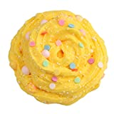 AMOFINY Baby Toys Fluffy Cloud Slime Scented Therapeutic Putty Cotton Candy Slime Supplies