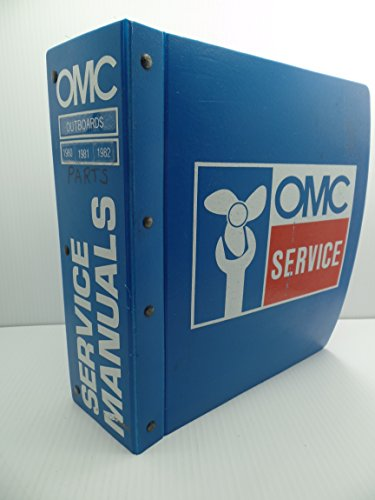 OMC Outboards Service Manuals Binder Parts Catalogs 1970-80's Johnson (Johnson Omc Outboard Part Catalog)