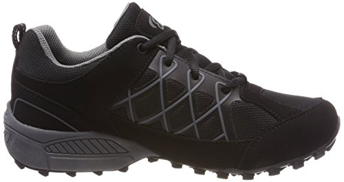 Low Zapatos Grau Adulto Rise Highland Schwarz Negro Grau Unisex de Senderismo Schwarz Bruetting q7gt5wx
