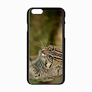 iPhone 6 Black Hardshell Case 4.7inch fishing wild paw snout Desin Images Protector Back Cover