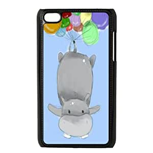 Clzpg Brand Ipod Touch 4 Case - Hippo diy phone case