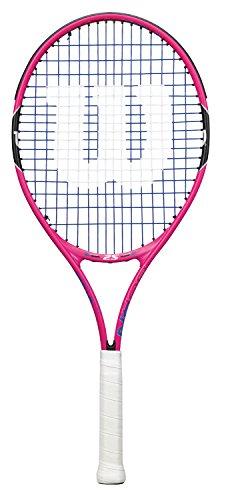 Wilson Junior Burn 25 Tennis Racquet, Pink