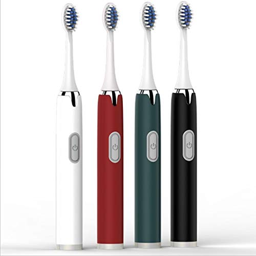 Electric Toothbrush Ultrasonic Induction USB Charging, Rechargeable Electric Toothbrush With Pressure Sensor and Smart…